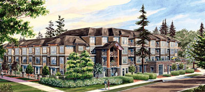 The Clayton Village Cloverdale community where the Calera Condominium Apartments pre-construction is taking place is a master planned neighbourhood set for completion by 2010.