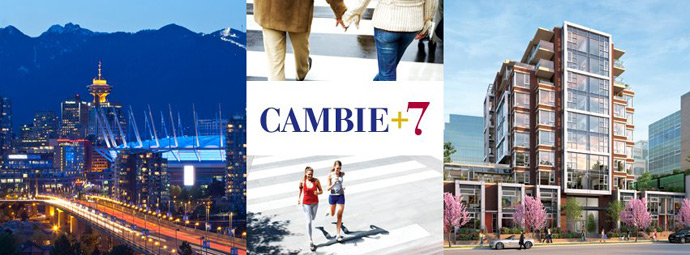 Cambie and 7th Avenue Vancouver condominium project is now starting pre-sales.