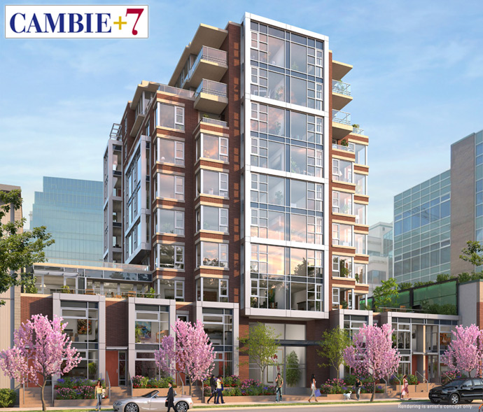 West Side Vancouver Cambie+7 Condos by Yuanheng Holdings developer.