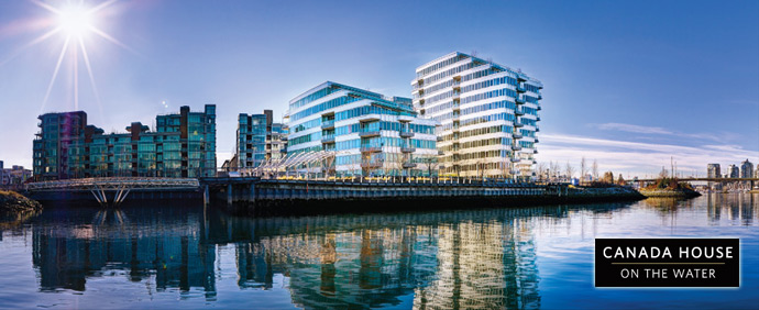 The Canada House at Village on False Creek Vancouver luxury condos for sale