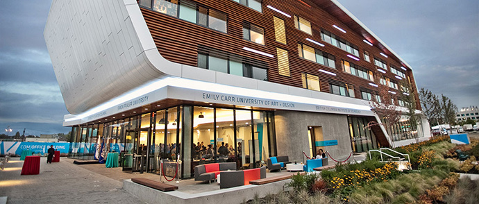 Future Emily Carr University of Art + Design and the Centre for Digital Media.