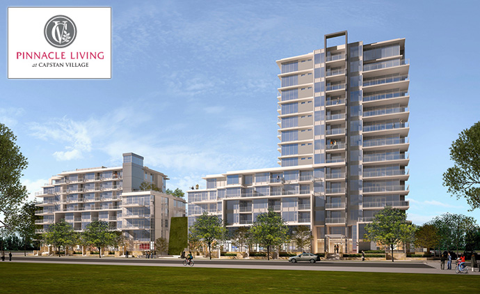 Pinnacle Living Capstan Village Richmond real estate development project.