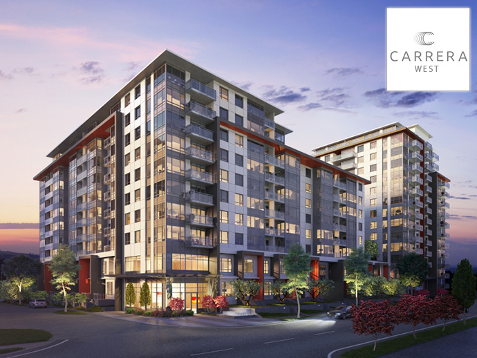 Polygon Carrera Richmond parkside homes for sale.