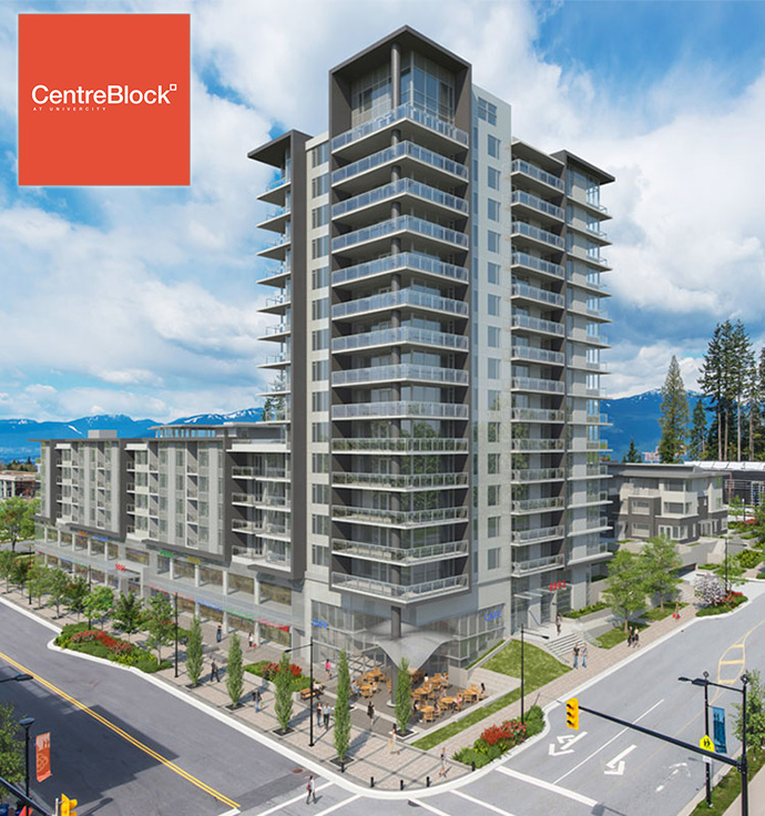 Liberty Homes present the preconstruction Burnaby CentreBlock condo development.
