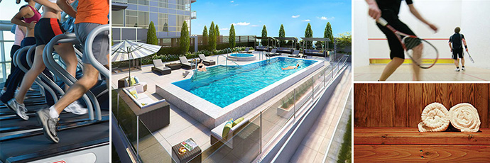The North Van CentreView Wellness Centre features numerous five star amenities for residents to enjoy year round.