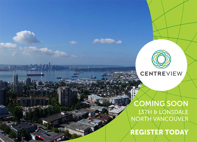 VIP register for Onni CentreView North Vancouver Central Lonsdale condos.