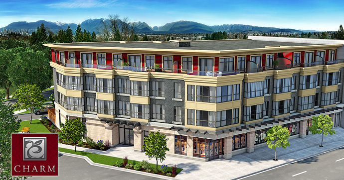 The new CHARM Vancouver East Condos and Townhomes for sale