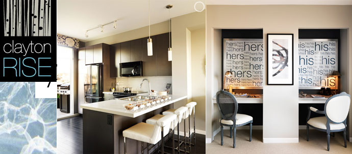 Clayton Rise Surrey Townhomes by Townline Group of Companies.