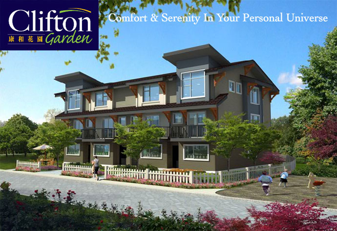 An intro to the affordable Richmond townhomes at Clifton Garden townhouse project.