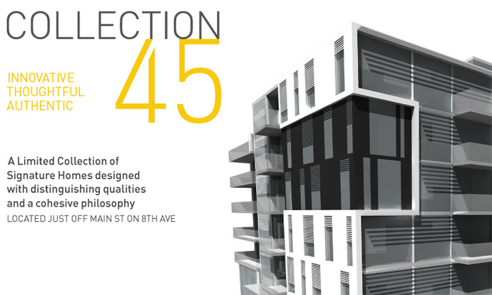 The Collection45 Vancouver condos for sale by GBL Architects.