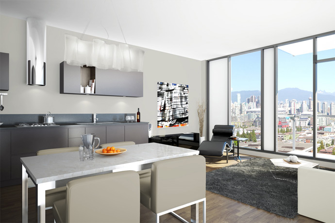 Collection45 Vancouver condominiums are truly unique, functional, high-end and affordable.