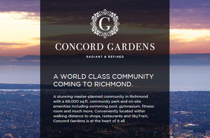 Concord Gardens Condos in Richmond for sale.