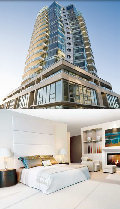 The Concord Erickson Platinum Collection Vancouver luxury condos for sale now available.