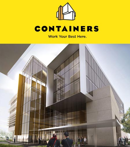 Rize Alliance presents Containers on Terminal Vancouver commercial space for lease.