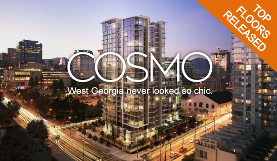 Final Release at Downtown Vancouver COSMO Condos by Concord Pacific