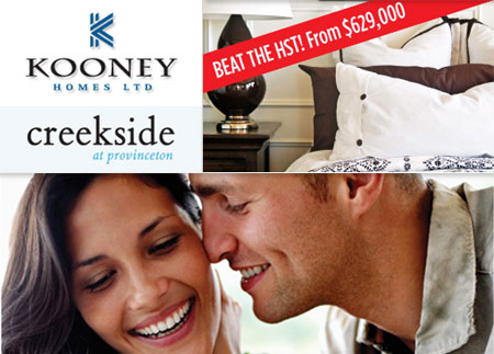 The new Surrey homes for sale at Creekside at Provinceton neighbourhood are now available pre-HST tax.