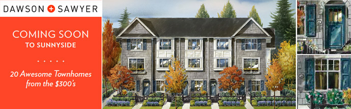 An introduction to the South Surrey Dawson+Sawyer Townhomes in Sunnyside Community.