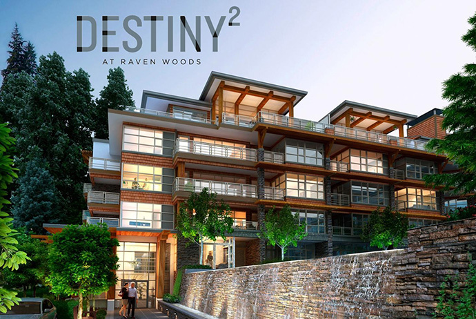 Destiny2 at Raven Woods North Vancouver master planned community.