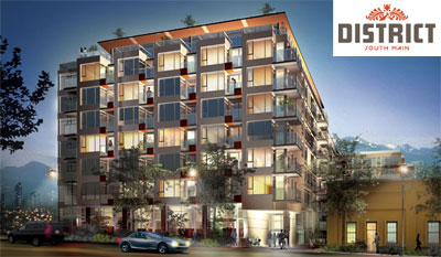 The much anticipated Amacon South Main District condominiums are now here as affordable Vancouver condos in a central location.