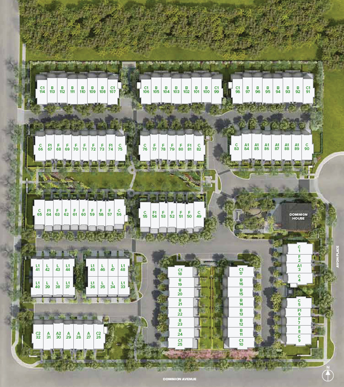 The Siteplan calls for 114 new Port Coquitlam homes for sale by MOSAIC Developer