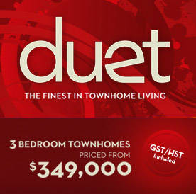 Affordable DUET Maple Ridge townhomes for sale at 116th Avenue launched!