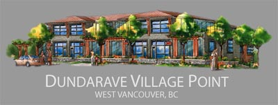 The pre-construction West Vancouver Dundarave Village Pointe Condominiums will provide luxury North Shore live/work apartments and waterfront condos for sale.