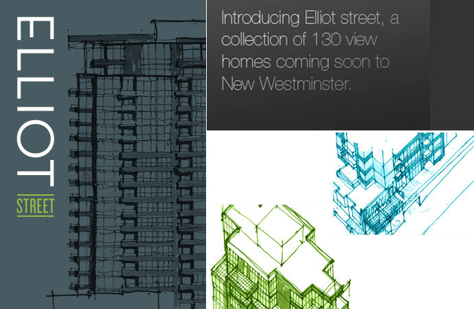 Elliot New West condo high-rise with GBL Architects and i3 Design.