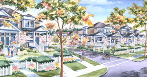 Emerald Garden Surrey Townhomes are located near 138 ST and the Fraser Highway and are very affordable for couples and families.
