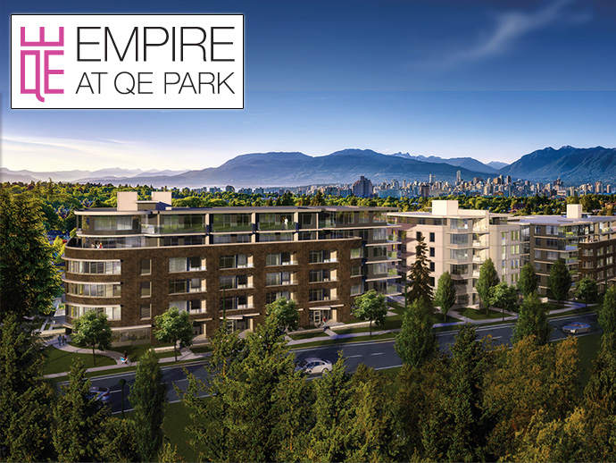 Luxury EMPIRE Vancouver Westside Condos for sale.