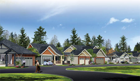 The new Fraser Valley adult oriented community of Chilliwack Englewood Village is now here for active adult living.