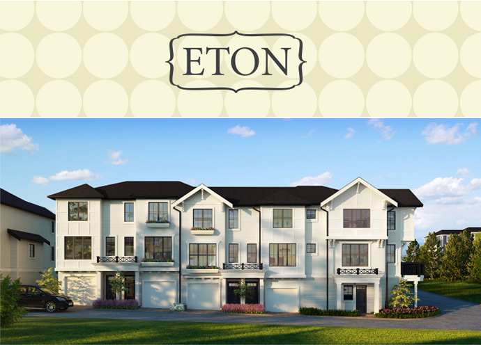 Panorama Surrey ETON Townhomes by Fairborne Homes.