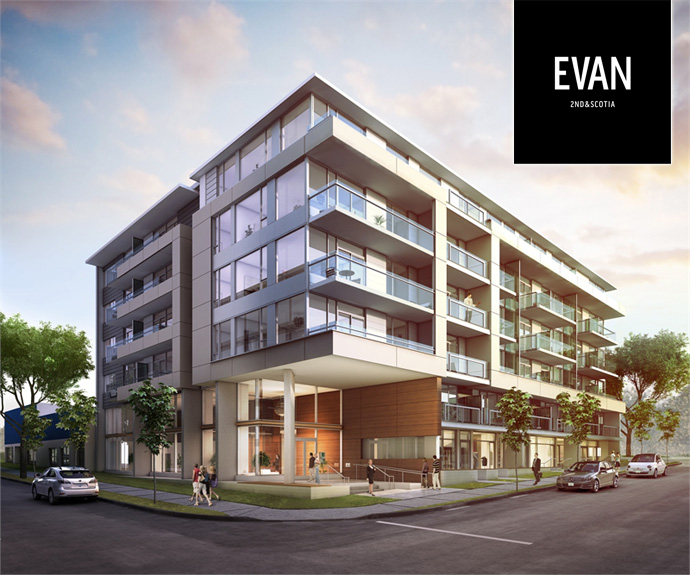 Amazing new Vancouver EVAN Condos at 2nd & Scotia