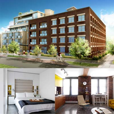 Renderings of the Exchange Lofts exterior as well as the kitchens, bathrooms and bedrooms are now available for viewing prior to the Exchange Pre-Sales Launch Event.