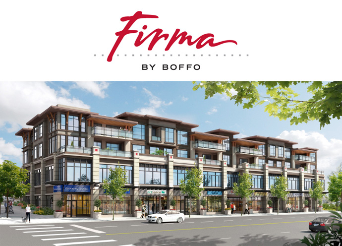 A guide to the new Burnaby Firma Condos by Boffo Development.
