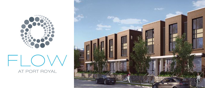 The new FLOW Port Royal Townhomes in Queensborough New Westminster real estate market.