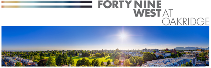 Westside Vancouver Forty Nine West Condos for Sale.