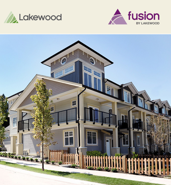 Fusion Surrey townhomes for sale.