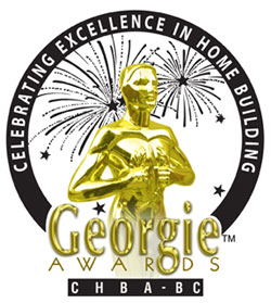 16th Annual Georgie Awards are not awarded to the top residential real estate property developments in BC.