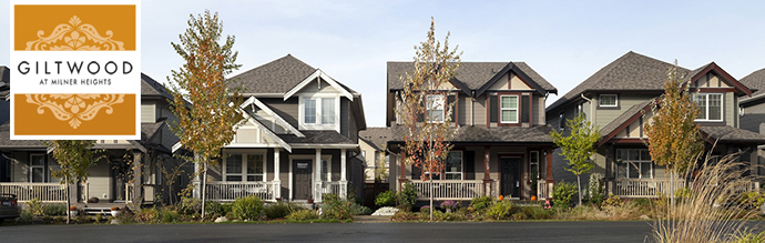 Single family detached Langley homes for sale at Vesta Giltwood at Milner Heights Langley community