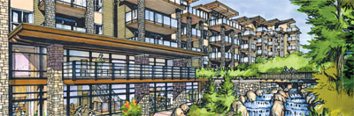 Adera GREEN Burnaby condo apartments have achieved Built GREEN Gold status and have won the most recent Golden Nugget award.