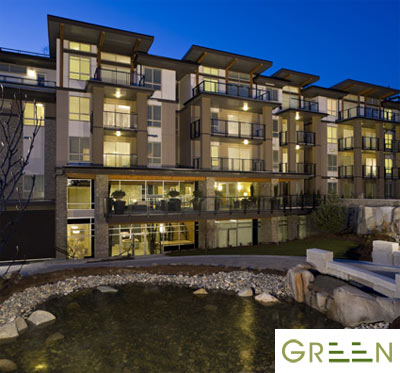 The Spring Collection Burnaby GREEN Condos for sale by Adera