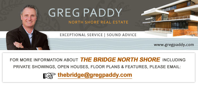 Contact Greg Paddy for more information about THE BRIDGE North Vancouver Homes for Sale.