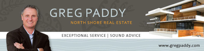 Greg Paddy specializing in West Vancouver and North Vancouver real estate listings.