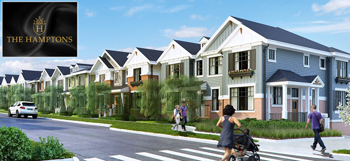 The Hamptons South Surrey real estate development now previewing.