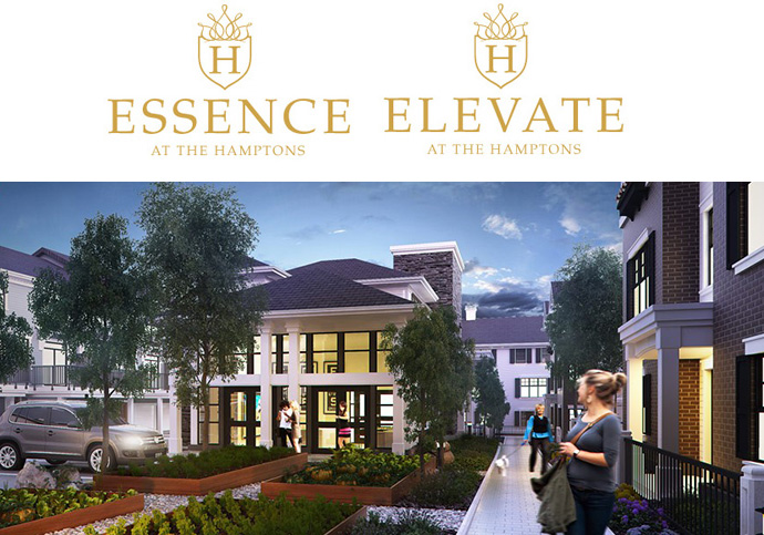 Elevate at The Hamptons Duplex Row Homes at South Surrey Essence at The Hamptons Townhomes is a master planned community near Grandview Heights.