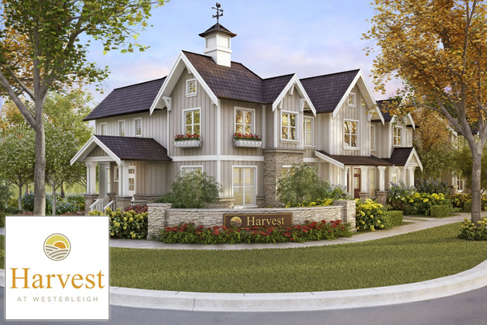 West Abbotsford Harvest Townhomes at Westerleigh community by Polygon Homes.