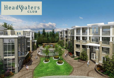 Redefining modern urban living is the new presales South Surrey Headwaters Club condos for sale.