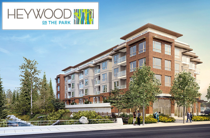 New North Vancouver Heywood on the Park by Marcon Builders.