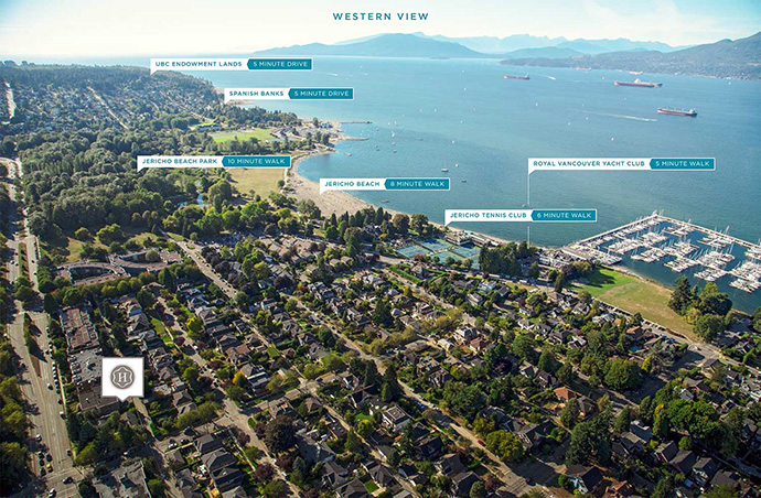 Vancouver Point Grey real estate for sale.