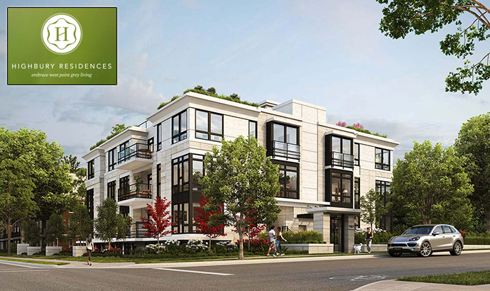 West Point Grey Vancouver Highbury Residences for sale.